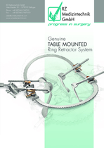 Genuine table mounted ring retractor system