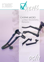 CASPAR MICRO Lumbar Discectomy Retractor