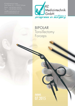 Bipolar Tonsillectomy Forceps