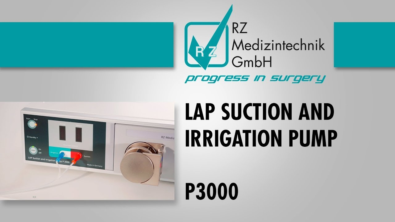 Laparoscopy Suction and Irrigation Pump P3000