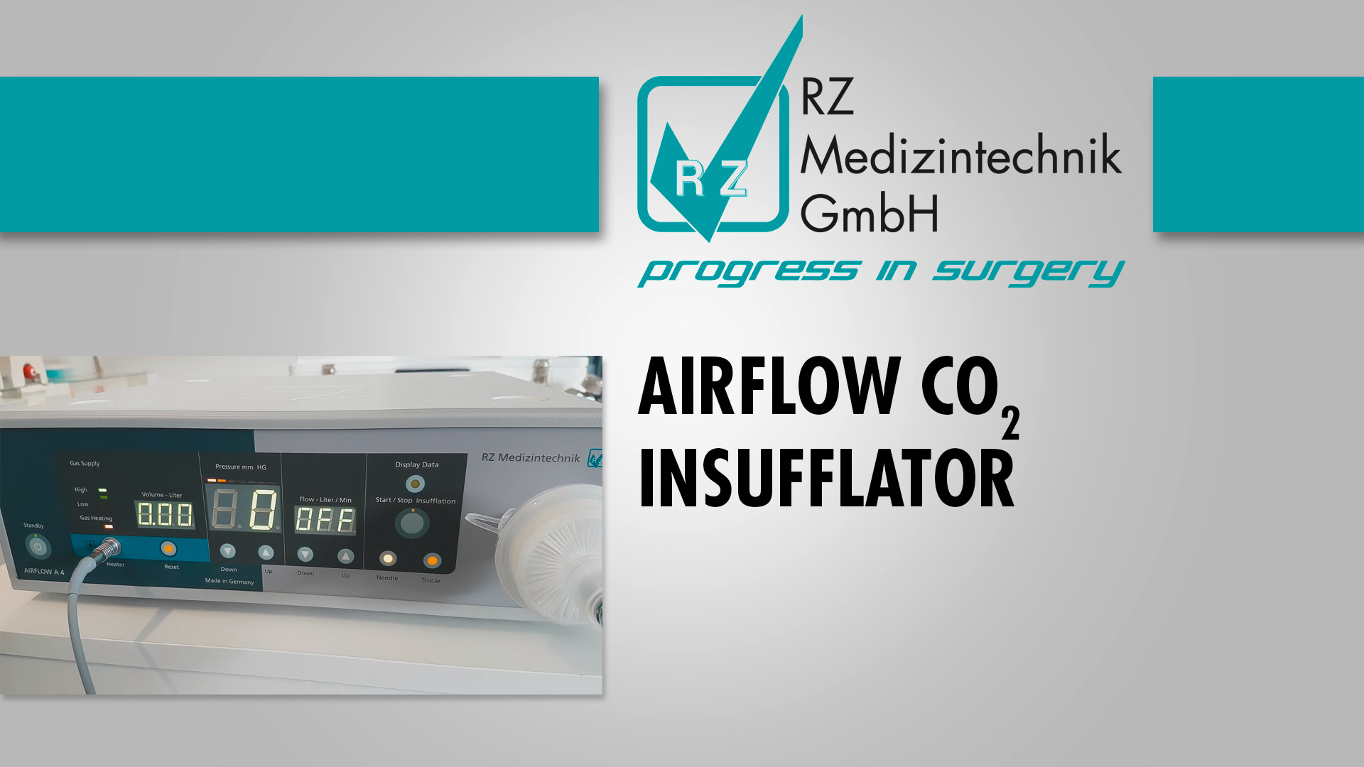 Airflow CO2 Insufflator