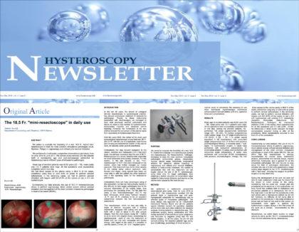 Hysteroskopie Studie und Report von Dr. Antonio Accardi