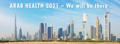 Arab Health 2021 – we will be there!